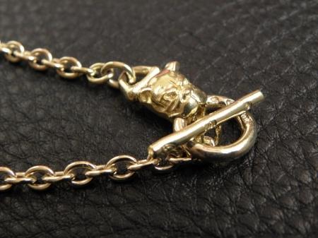 10k,Gold,Necklace,Silver,Gaboratory,Gabor