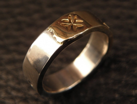 Ring,Silver,Gold,Gaboratory