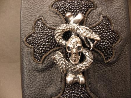 Wallet,Chain,Silver,Leather,SLASH,Gabor,Gaboratory