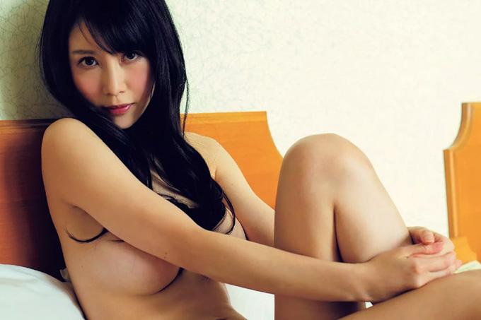 青井はな Gカップスレンダー美女のシンプルな、エロス。