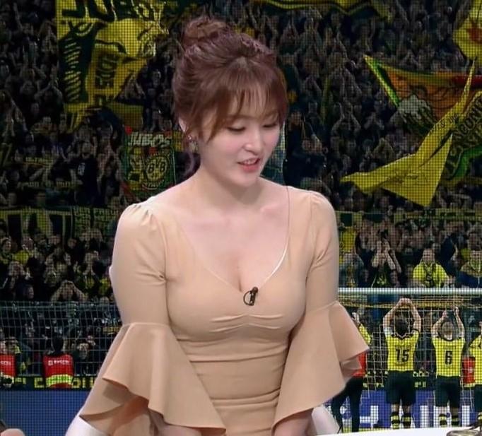 サッカー番組の女キャスター5