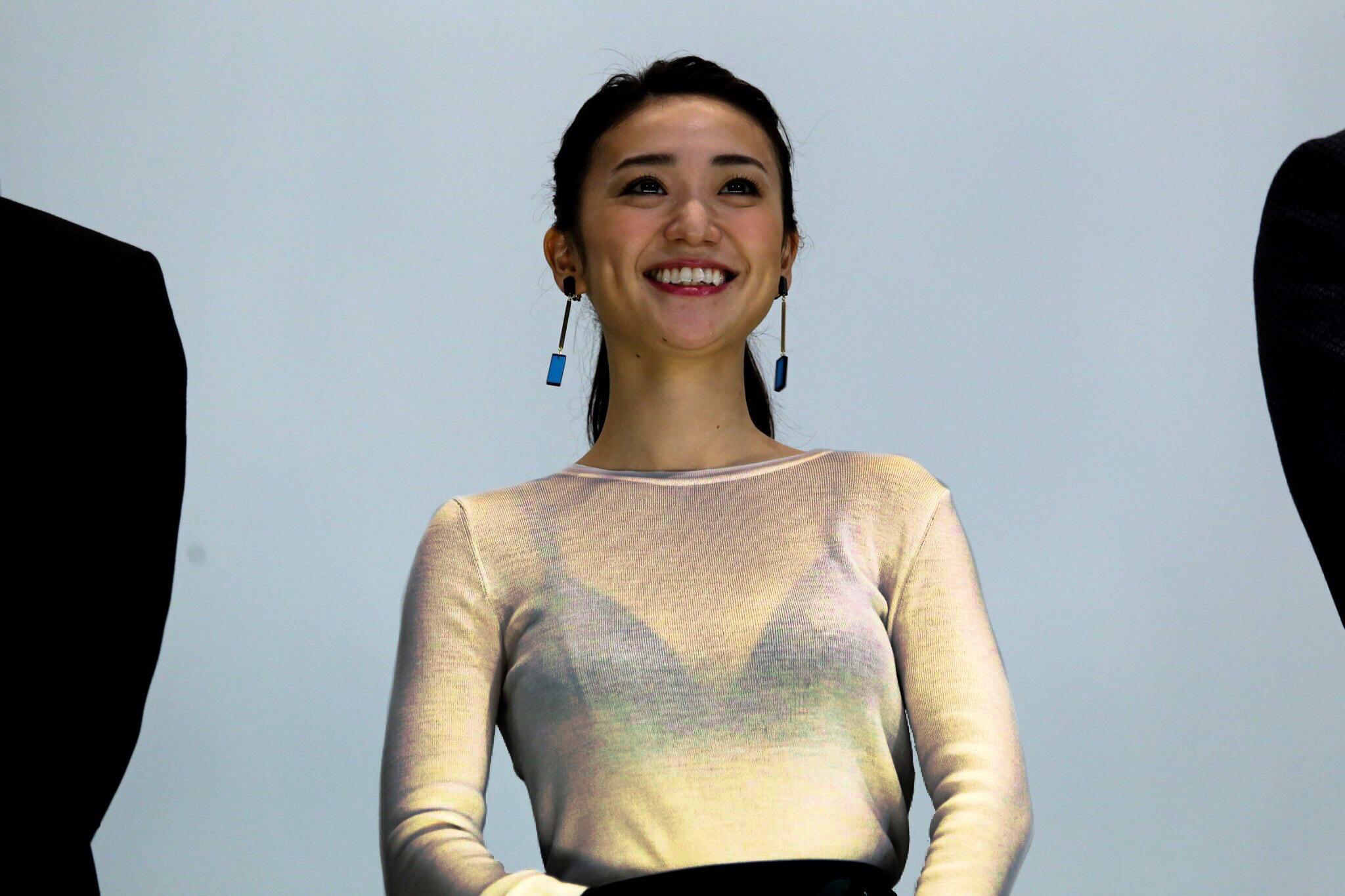 大島優子 ブラ透け1
