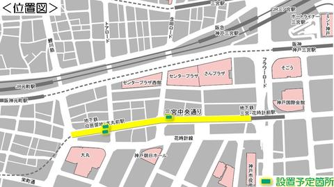 20161004パークレットの地図