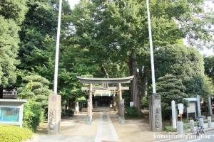 館氷川神社(志木市柏町)1
