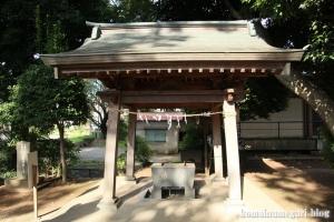 館氷川神社(志木市柏町)10