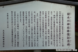 館氷川神社(志木市柏町)16