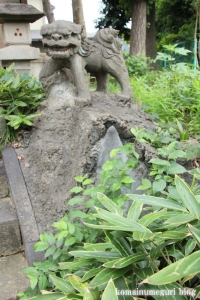 上ノ氷川神社(志木市上宗岡)17