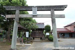 羽倉浅間神社(志木市上宗岡)1