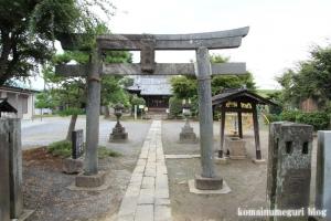 産財氷川神社(志木市中宗岡)1