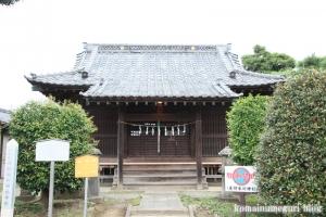 産財氷川神社(志木市中宗岡)4