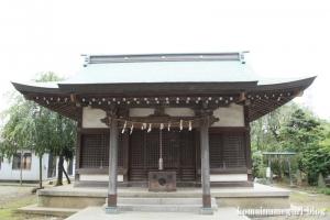 下ノ氷川神社(志木市下宗岡)11