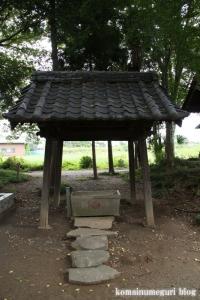 下ノ氷川神社(志木市下宗岡)8