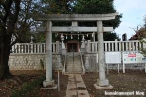 内間木神社(朝霞市上内間木)4