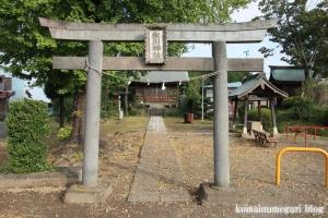 下内間木氷川神社(朝霞市下内間木)2