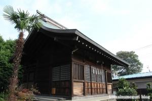 下内間木氷川神社(朝霞市下内間木)6