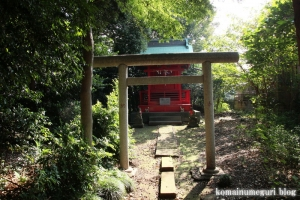 稲荷神社(朝霞市根岸台)2