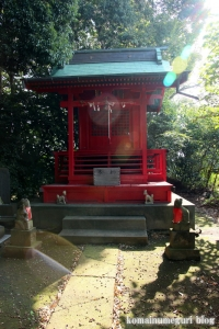 稲荷神社(朝霞市根岸台)3