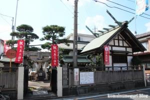 荒船神社(朝霞市本町)1