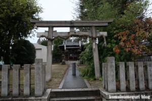 安田神社(鶴見区安田)1