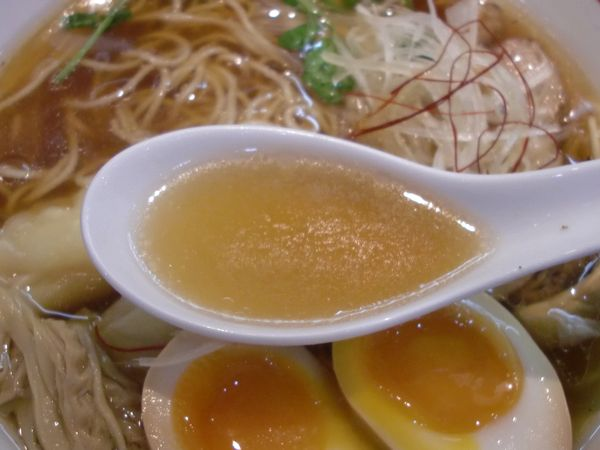 くろおび@大門・20151130・スープ