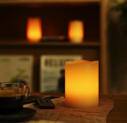 WY LEDキャンドル3個セット 癒しの灯り WY Style
