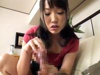 【松下ひかり】困惑する義父を強引に押さえつけてバキュームフェラする痴女妻