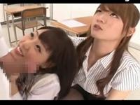 痴女教師とJKのワイセツフェラ教室!【痴女 M男】