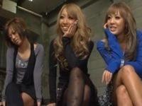 M男が3人の渋谷ギャルにアナルを徹底的におしおきされる!