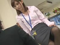 逆切れお姉さん 黒パンスト美脚で懲らしめる!麻生希