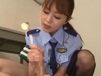 吉沢明歩 取調室で犯人に自供させるため素股やフェラ手コキで痴女っちゃう美人婦警!