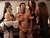 催眠 変態痴女お姉さんと変態M男の宴