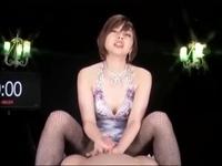 美形痴女お姉さんの淫語責め手コキ!卯水咲流