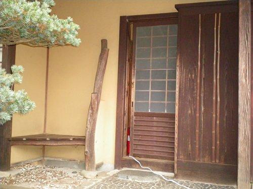 ICU泰山荘・書院玄関