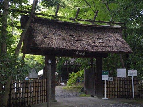 ICU泰山荘・門