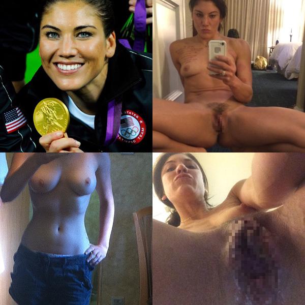 オリンピック米女子サッカー金メダル選手の「オナニー画像」が出回ってしまって回収不可能wwww