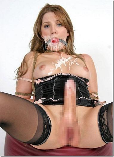 【三次元ふたなりエロ画像8】思わず虐めたくなるエロい両性具有者の美ボディ18