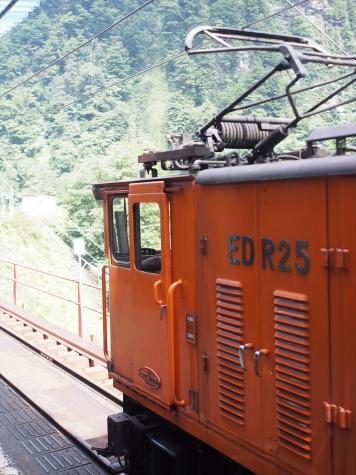 黒部峡谷鉄道 EDR25 電気機関車