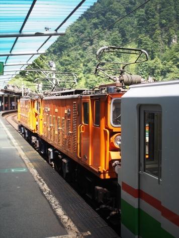 黒部峡谷鉄道 EDR24&25 電気機関車
