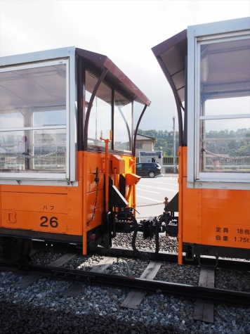 黒部峡谷鉄道 ハフ26・27 客車