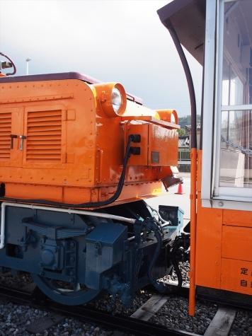 黒部峡谷鉄道 ED8 電気機関車