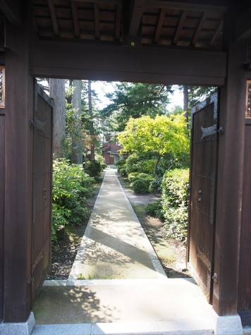 松桜閣と庭園【黒部市】