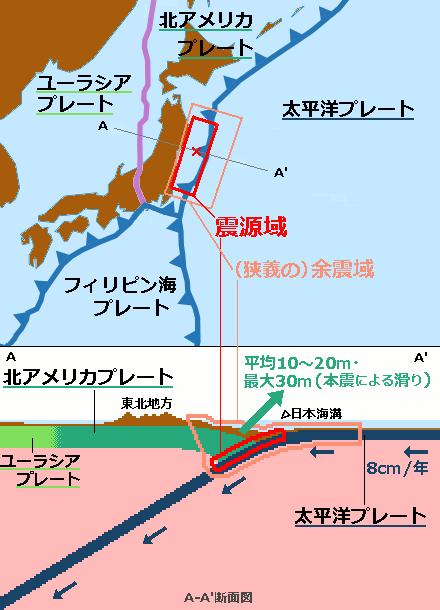 【地殻変動】宮城県沖プレート…震災後沈む速度2倍に