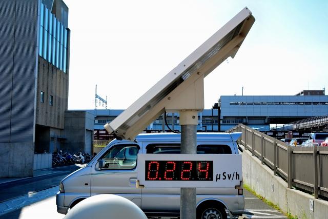 福島の「モニタリングポスト」のケーブルが切断される
