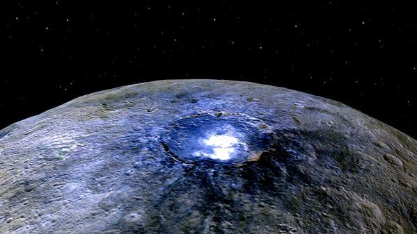 【NASA】準惑星ケレスで「生命体形成」に必要な有機分子を発見