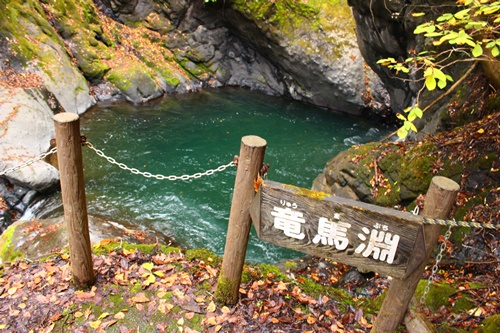吊り橋コースへ19