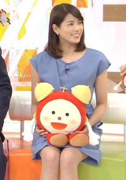 永島優美 ミニスカのデルタゾーン (20160902)キャプ画像(エロ・アイコラ画像)