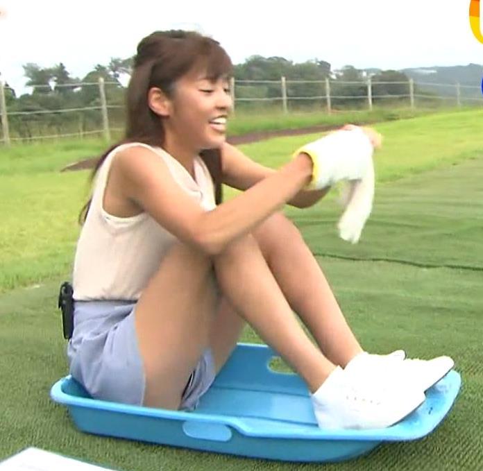 岡副麻希 脚ならいくらでも見せてくれるフリーアナキャプ画像(エロ・アイコラ画像)