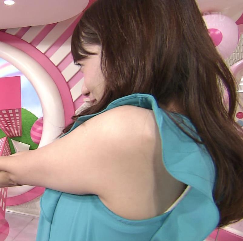 加藤多佳子 肩・二の腕、肌ドアップキャプ画像(エロ・アイコラ画像)