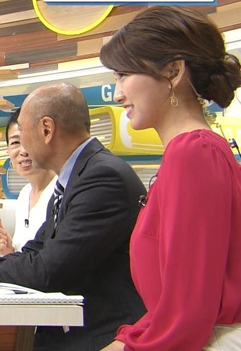 三田友梨佳 横乳キャプ画像(エロ・アイコラ画像)