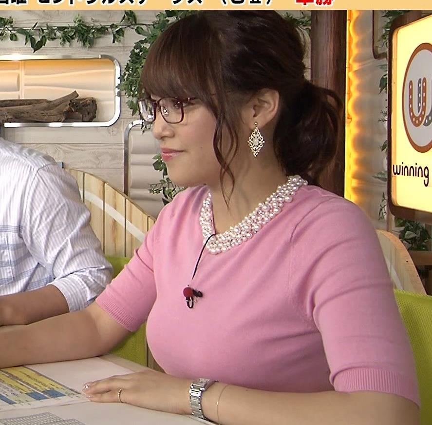 鷲見玲奈 今週の爆乳アナキャプ画像(エロ・アイコラ画像)
